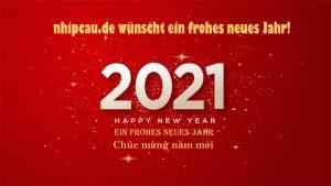 Ein Frohes Neues Jahr 2021 nhipcau.de